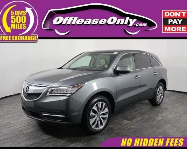 Amazing Acura MDX Tech Pkg Off Lease Only Acura MDX Tech - Acura mdx for lease