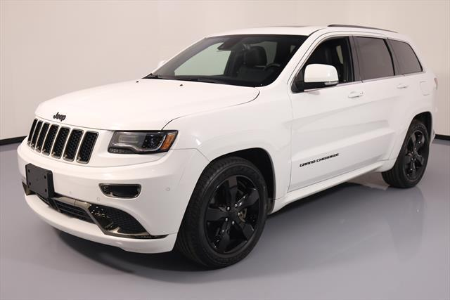 Amazing 2017 Jeep Grand Cherokee Overland Sport Utility 4 Door High Alude 4x4 Sel Nav 184336 Texas Direct Auto 2018
