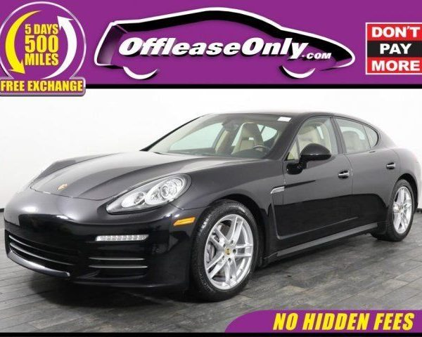 Porsche Panamera Lease >> Great 2015 Porsche Panamera 4 Hatchback Awd Off Lease Only 2015