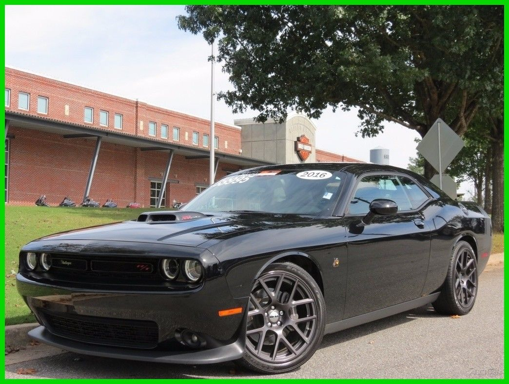 Amazing 2016 Dodge Challenger R T Pack 6 4l V8 Hemi Automatic Shaker Hood Navigation Backup Camera Leather Suede 2017 2018
