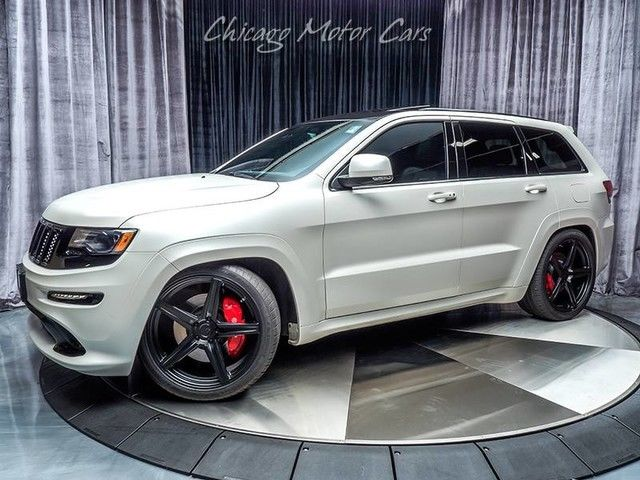 Jeep Cherokee White And Black >> Awesome 2016 Jeep Grand Cherokee SRT Night 2016 Jeep Grand Cherokee SRT Night Bright White ...