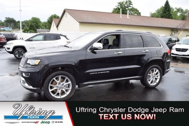 Great 2016 Jeep Grand Cherokee Summit 12764 Miles Black Sport Utility Intercooled Turb 2017 2018
