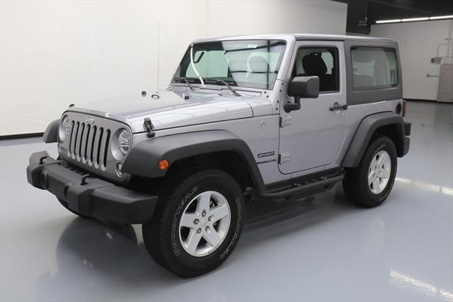 Awesome 2016 Jeep Wrangler Sport Utility 2 Door S Hard Top 4x4 Automatic 14k 204840 Texas Direct Aut 2017 2018