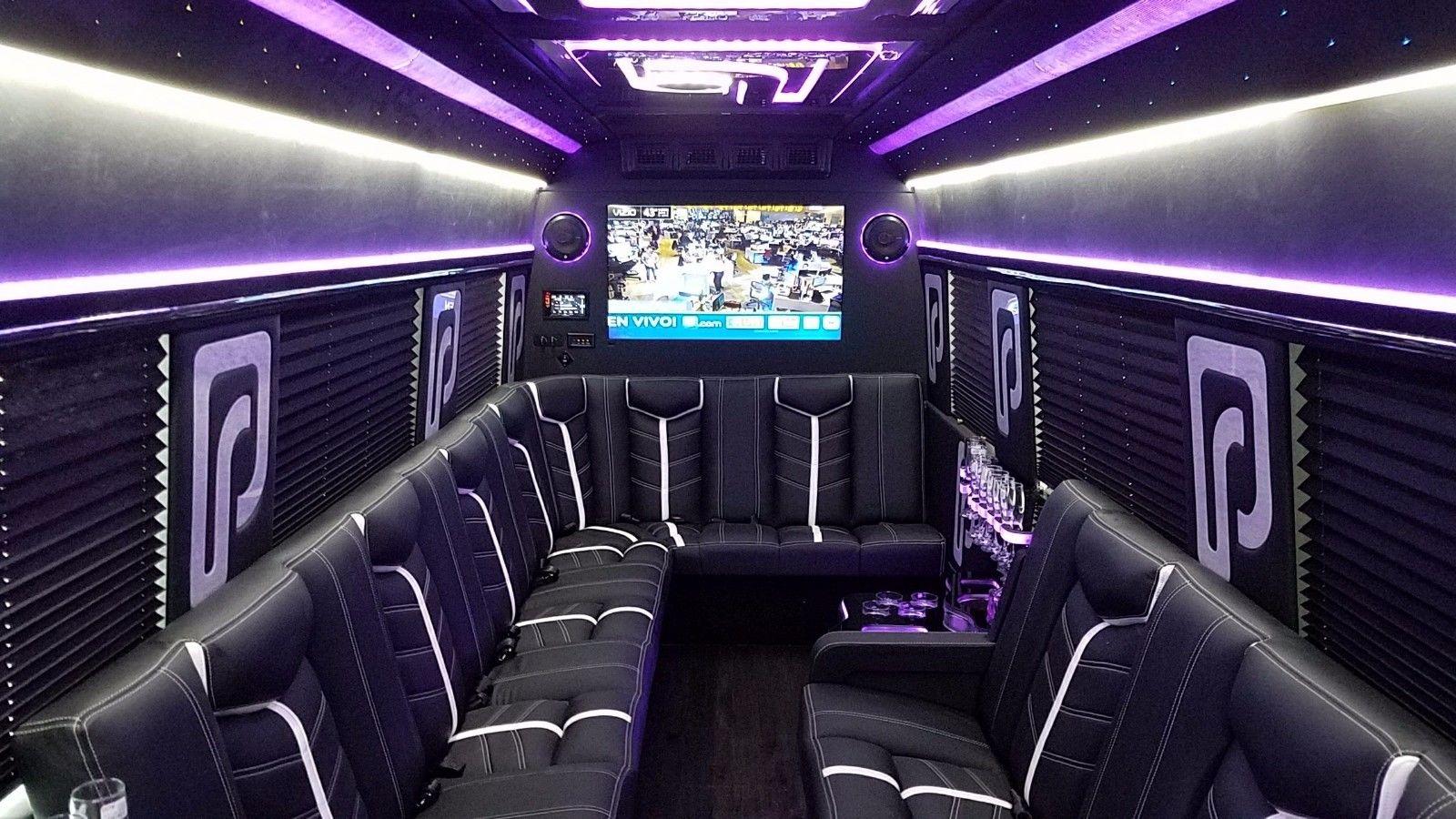 Amazing MercedesBenz Sprinter Custom Luxury Party Bus - Mercedes benz limo bus