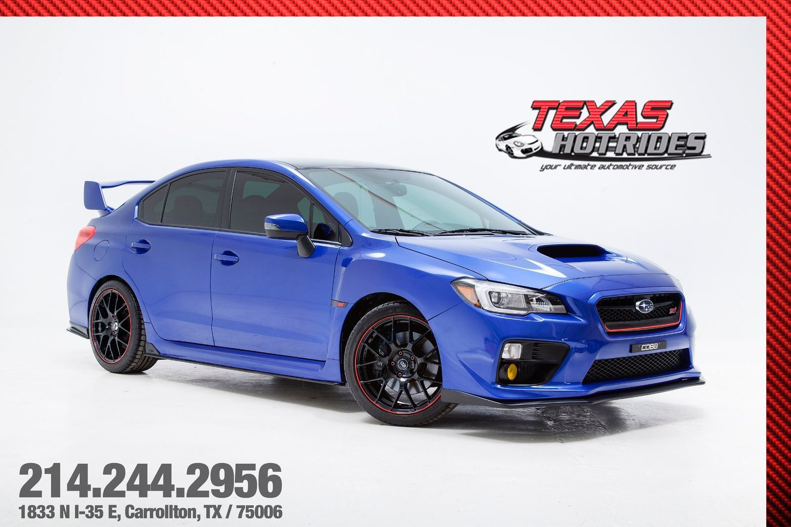 Used 2016 Subaru Wrx Cobb Stage 2 With Many Upgrades 2016 Subaru Impreza Wrx Sti Sedan Cobb Stage 2 With Many Upgrades Must See 2017 2018 24carshop Com