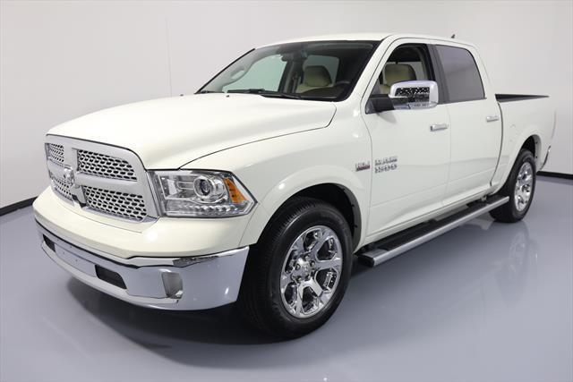 Awesome 2017 Dodge Ram 1500 Laramie Crew Cab Pickup 4 Door Climate Leather 13k Mi 752029 Texas Direct 2018
