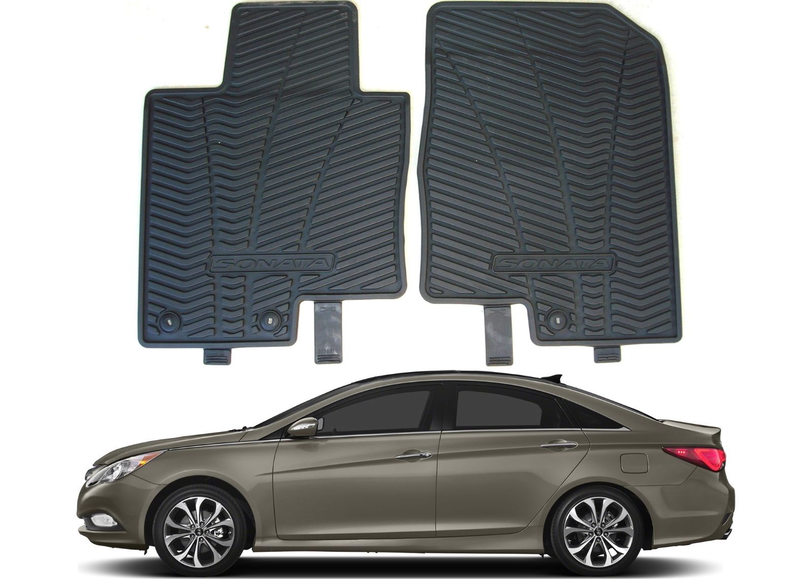 Awesome Genuine Oem Front All Weather Floor Mats For 2017 Hyundai Sonata New Usa 2018