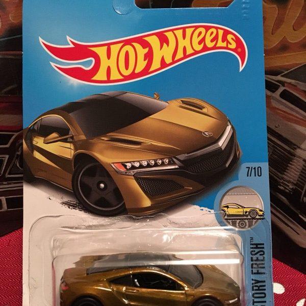 Great Hot Wheels '17 Acura NSX, Super Treasure Hunt 2018