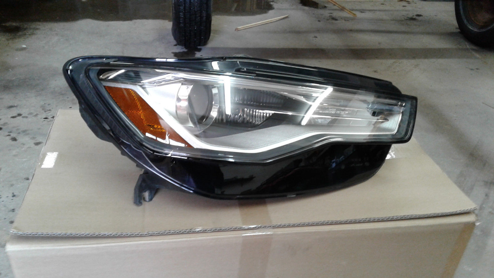 Awesome Oem 2016 2017 Audi A6 S6 Headlight Embly Right Side 2018 2019