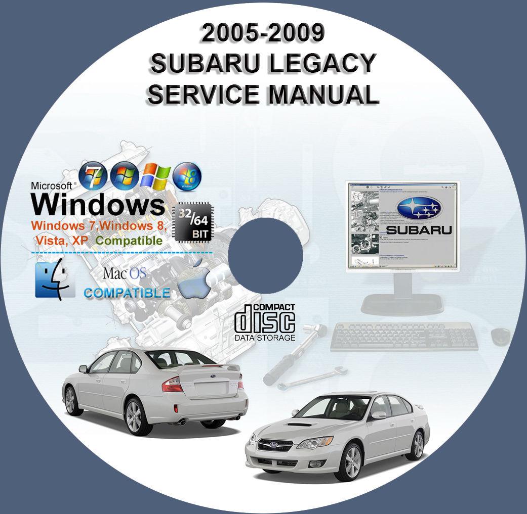awesome subaru legacy outback 2005 2006 2007 2008 2009 workshop rh  24carshop com 2006 subaru legacy service manual pdf Subaru Legacy 4WD