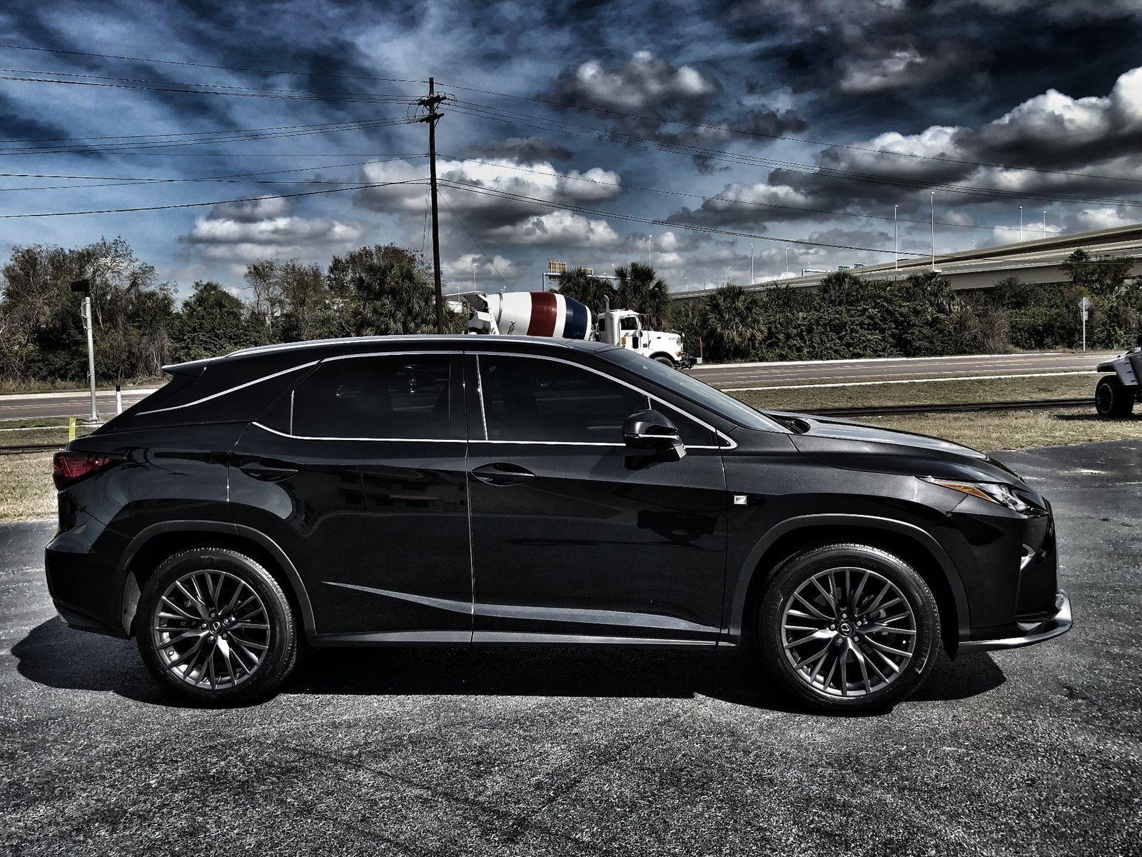 Used 2016 Lexus RX F SPORT RX350 BLACK/BLACK LOADED RX350