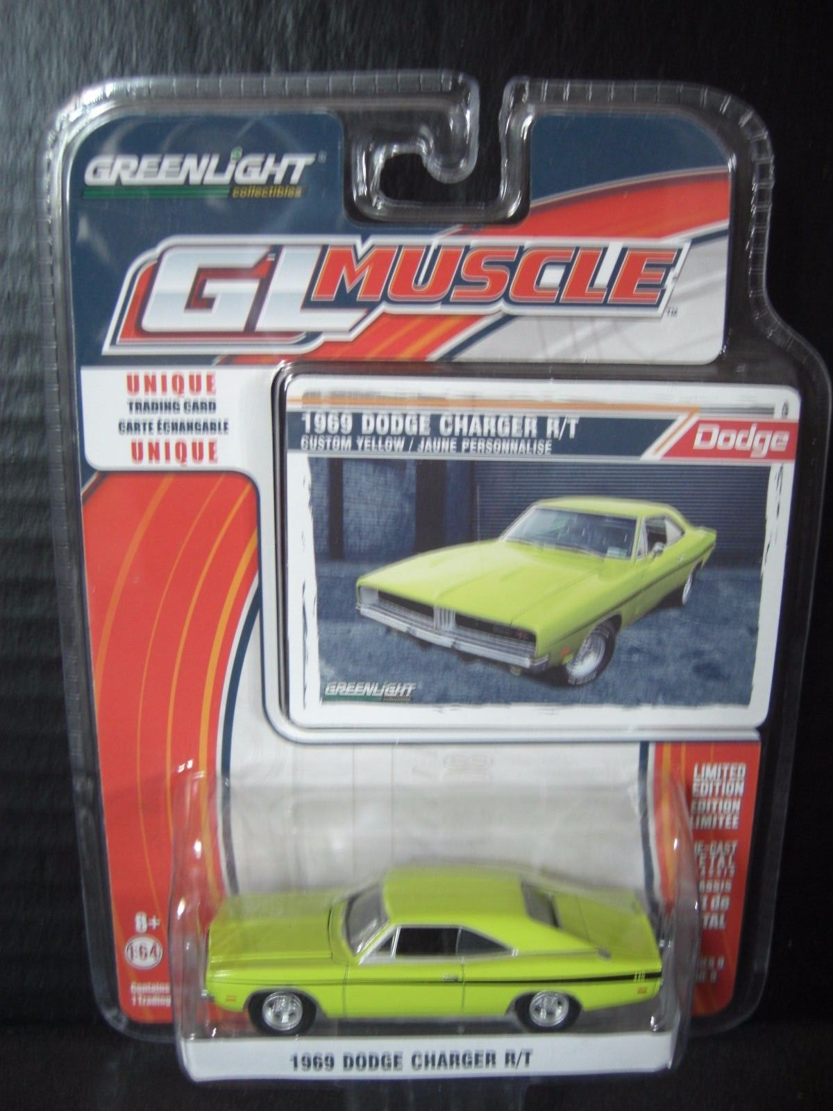 Great Greenlight Dirty Mary & Crazy Larry 1969 Dodge Charger R/T 1/64  Diecast 2017/2018