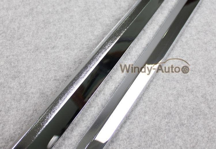 Chrome Body Side Overlay Cover Trim Trims For Subaru Forester 2016 2017