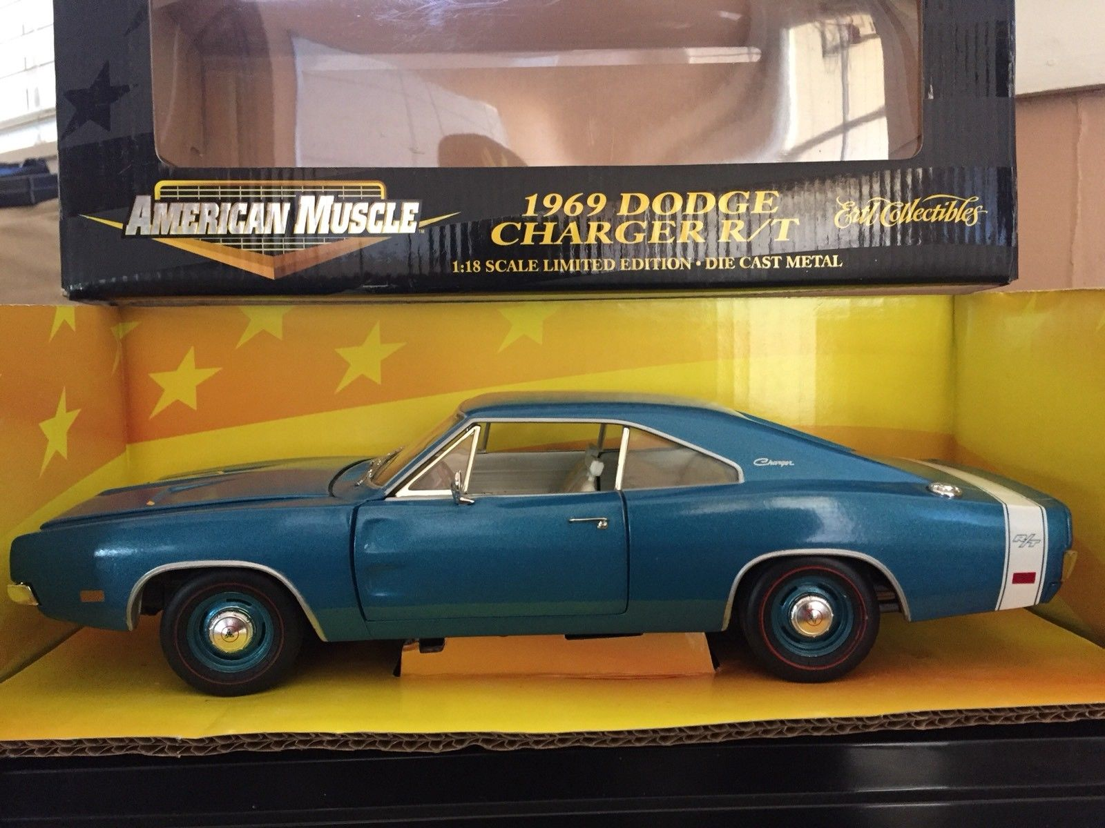 Used 1969 Dodge Charger RT ERTL American Muscle 1:18 White
