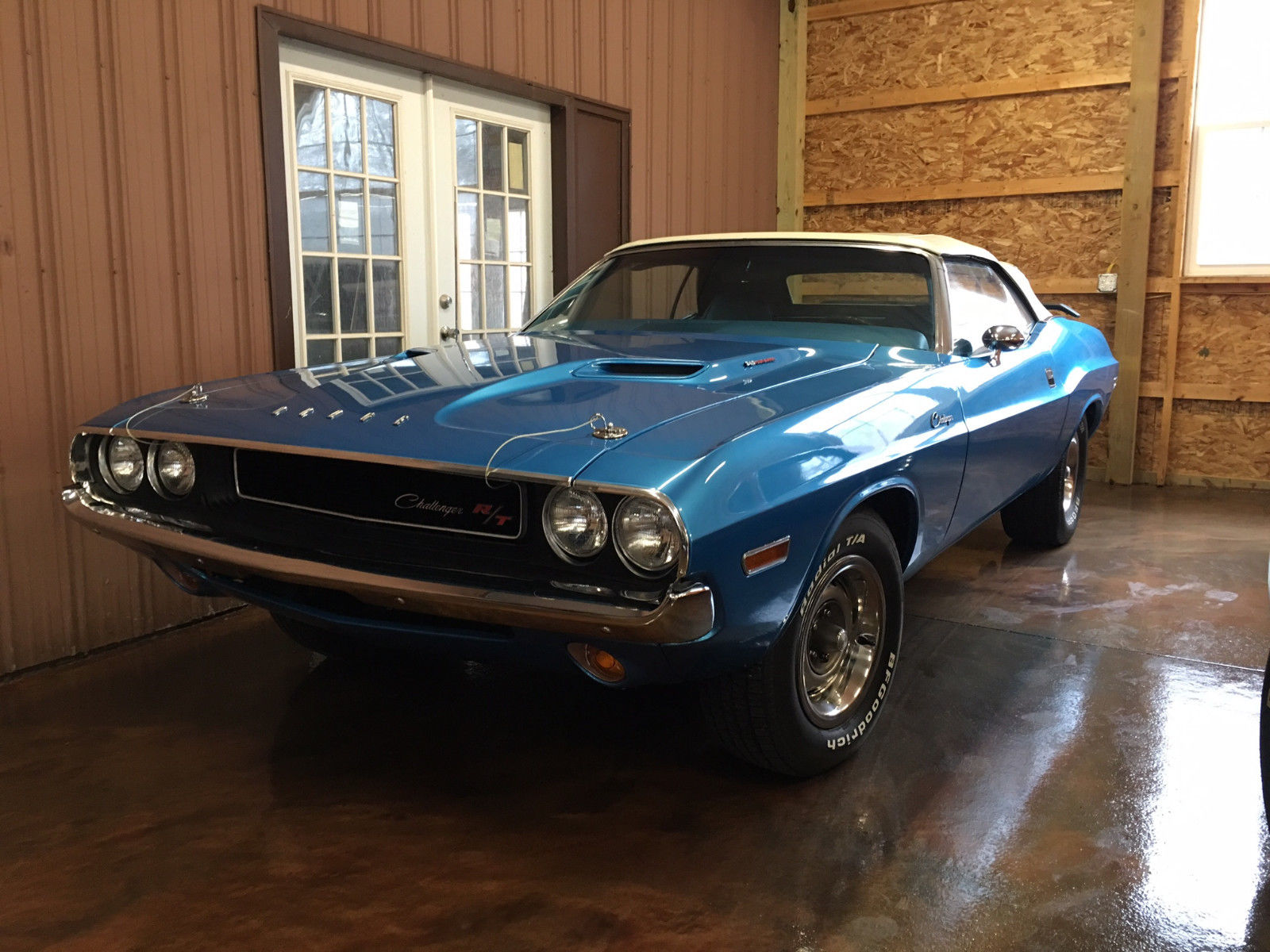 Awesome 1970 Dodge Challenger Convertible Rallye B5 Blue 340 Just Red 2017 2018
