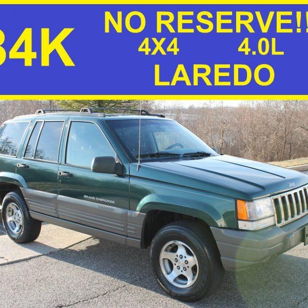 Great 1998 Jeep Grand Cherokee LAREDO NO RESERVE LAREDO
