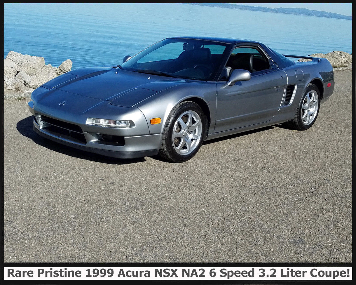 Amazing 1999 Acura NSX NA2 COUPE PRISTINE ACURA 6 SPEED 32 LITER MORE RARE THAN A