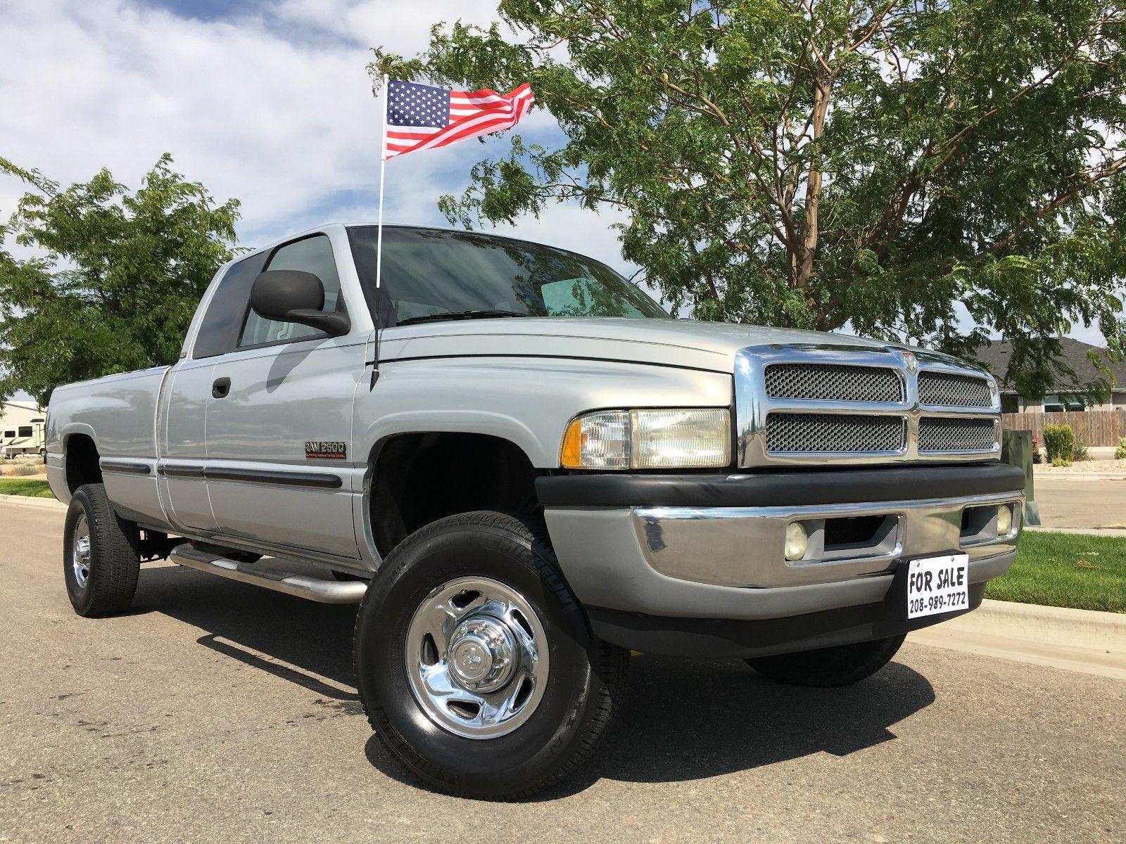 1999 Dodge Ram 2500 Slt 1999 Dodge 2500 Quad Cab Turbo Cummins Diesel 100 Rust Free West Coast Truck 2017 2018 24carshop Com