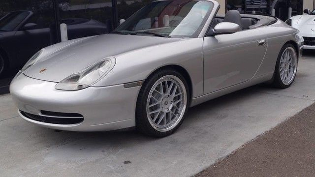 1999 Porsche 911 Carrera Convertible 2 Door 1999 Porsche 911 Cabriolet Fully Serviced 2017 2018 24carshop Com