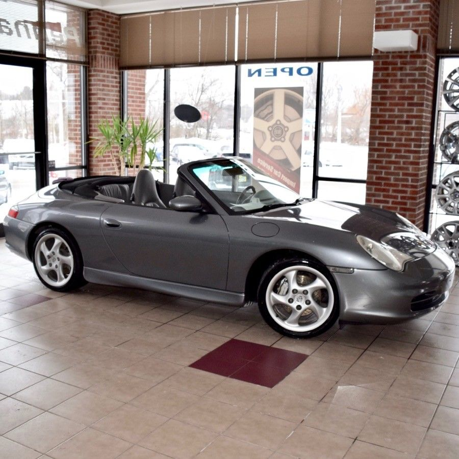 2002 Porsche 911 Carrera 4 Cabriolet 2002 Porsche 911 Carrera 911 4 Cabriolet W Hard Top Turbo Wheels Low Miles 2017 2018 24carshop Com
