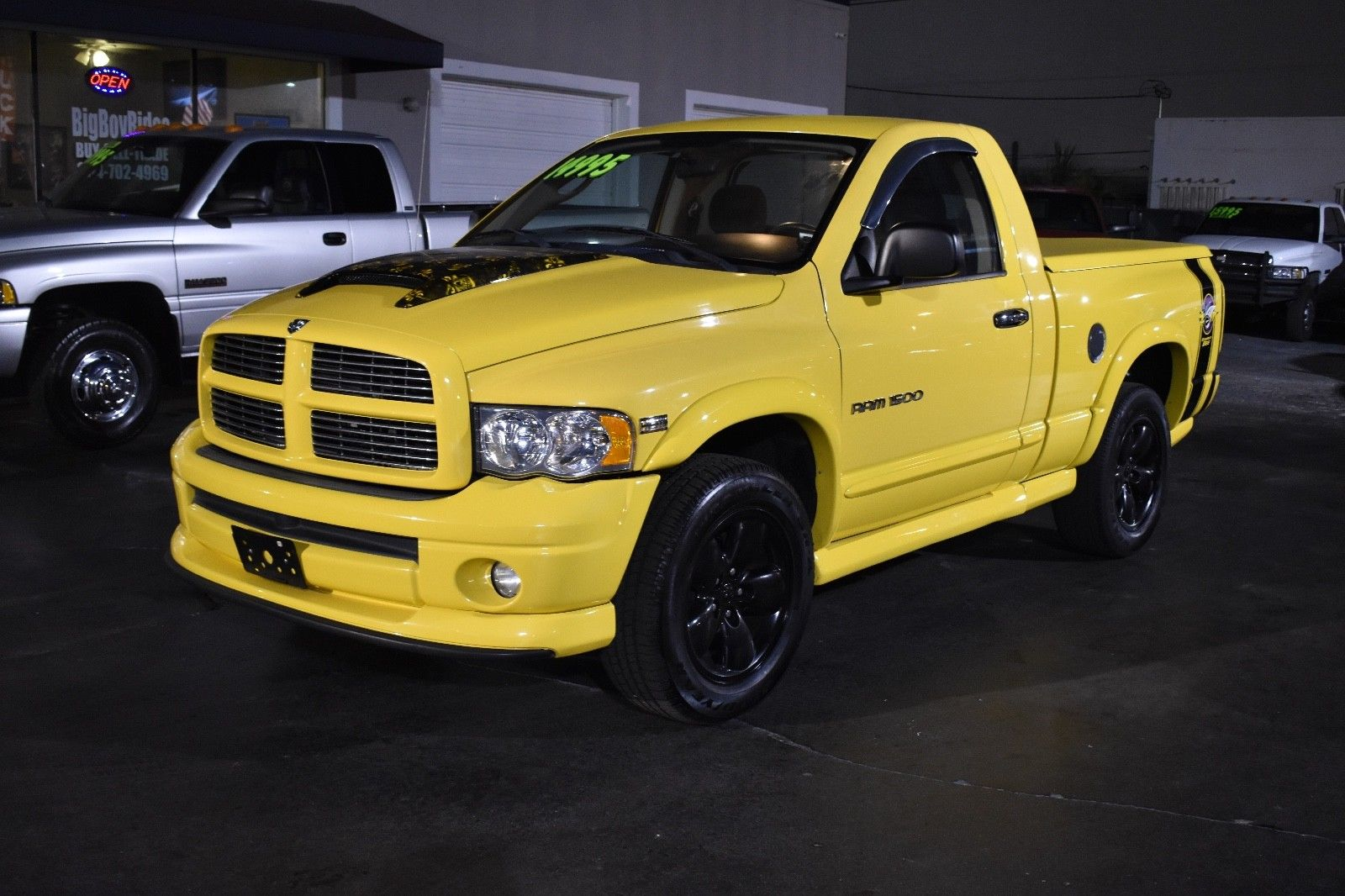 Dodge Ram Rumble Bee >> Great 2005 Dodge Ram 1500 Rumble Bee Hemi 2005 Dodge Ram 1500 5 7 Hemi Rumble Bee Limited Edition 4x4 Shipping Available 2017 2018