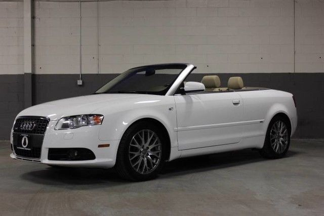 Amazing 2009 Audi A4 Cabriolet Convertible 2 Door Beautiful 0t Quattro S Line Package Just Serviced 2017 2018