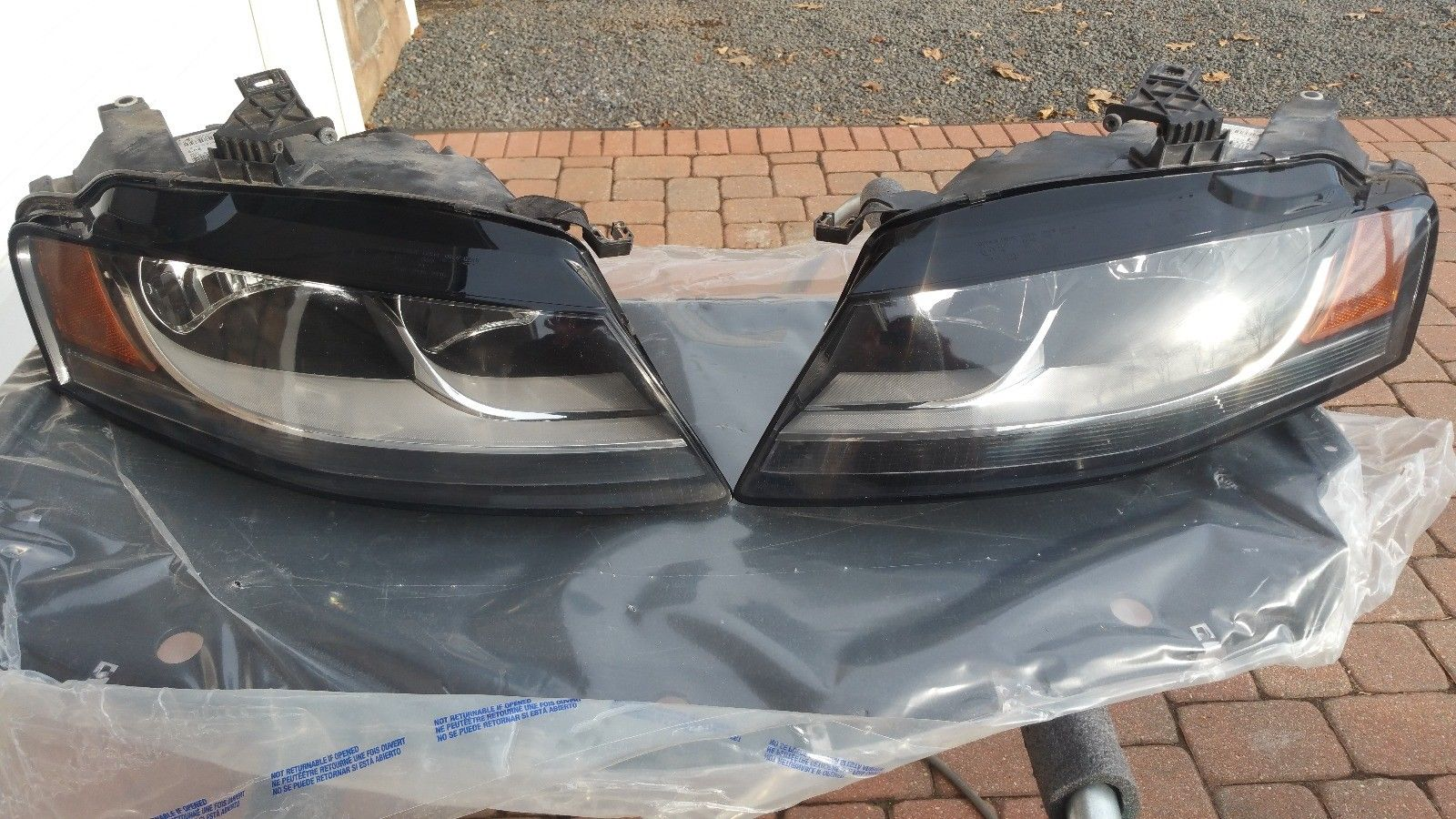 Awesome 2009 Audi A4 Halogen Headlights 2017 2018 24carshop