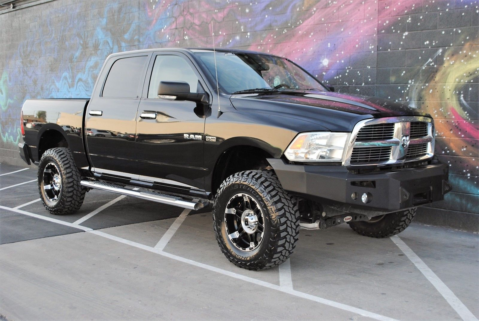 Used 2010 Dodge Ram 1500 Big Horn Edition 2010 Ram 1500 Big Horn Edition Crew Cab 4x4 Off Road Custom Bumpers Low Miles 2017 2018 Is In Stock And For Sale 24carshop Com