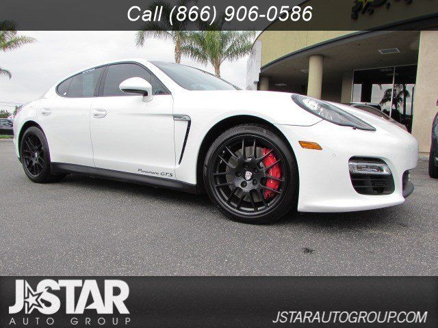 Used 2013 Porsche Panamera Gts Hatchback 4 Door 2013 Porsche Panamera Gts White On Black Priced To Sell 2017 2018 24carshop Com