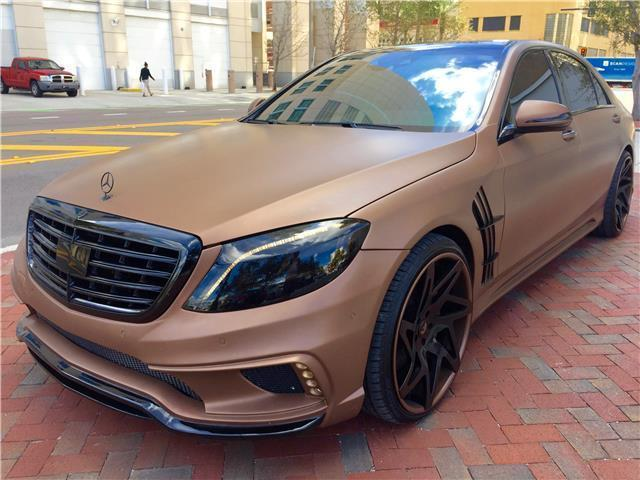 Awesome 2014 Mercedes Benz S Class Custom S550 2014