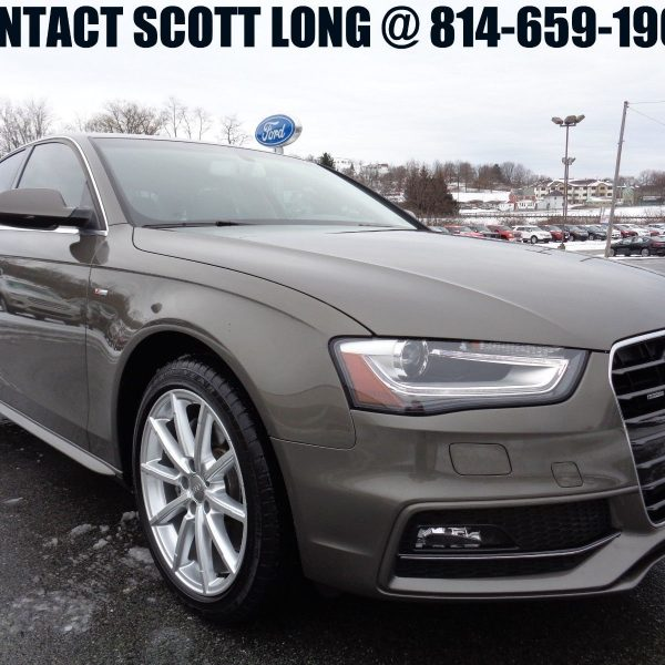 Awesome 2015 Audi A4 2015 A4 Quattro S-line All Wheel
