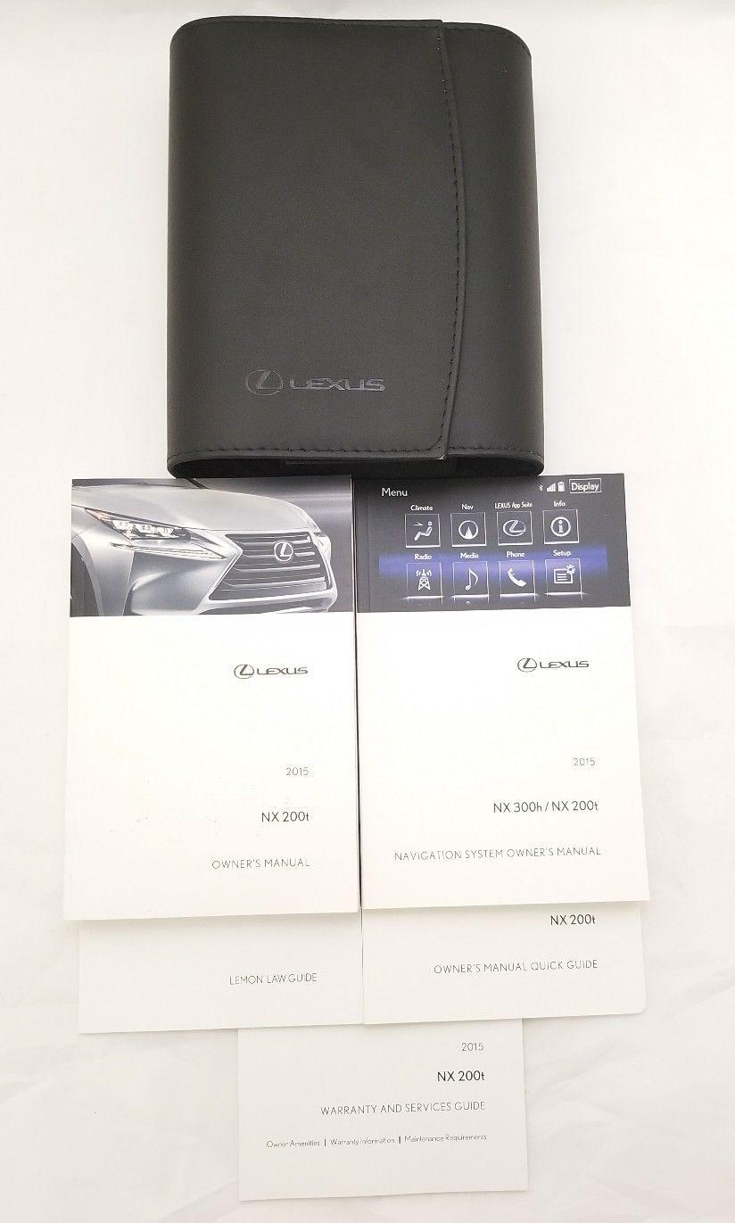 lexus nx200t manual