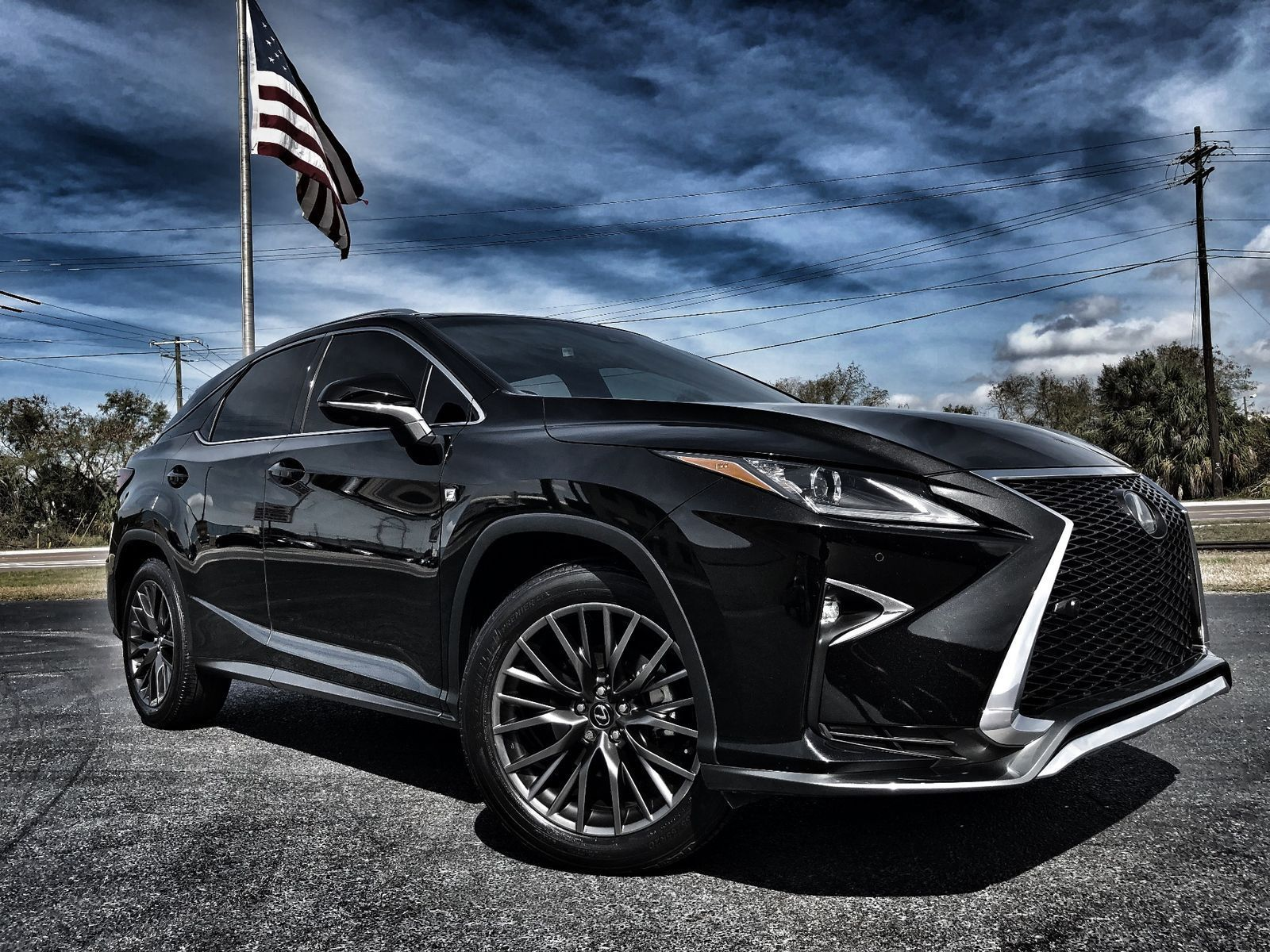 Awesome 2016 Lexus Rx F Sport Rx350 Black Loaded Caviar Leather Pano 12 Nav 59k New 1 Owner We Finance Fla 2017 2018