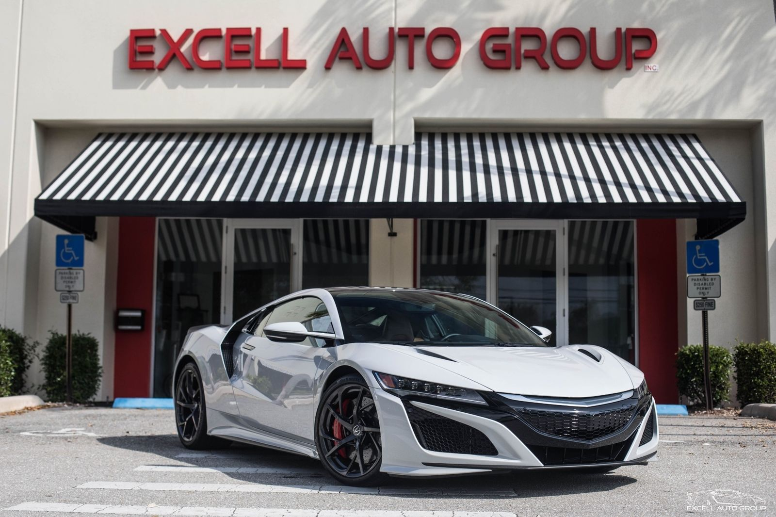 Great 2017 Acura NSX SH AWD Sport Hybrid 2017 Acura NSX SH AWD Sport Hybrid  4600 Miles Casino White Pearl Coupe 3.5L Hybr 2017 2018