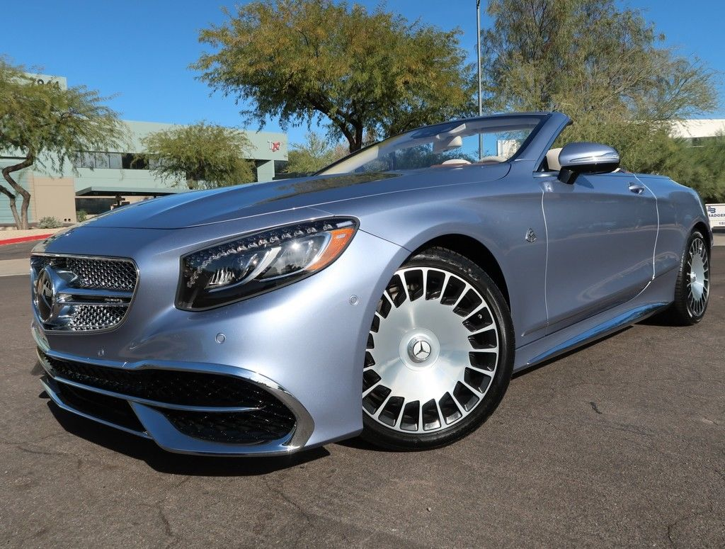 Great 2017 Mercedes Benz S Class Maybach S 650 Cabriolet 2017 Mercedes Benz Maybach S 650 Cabriolet Brand New 48 Miles Very Rare S650 2017 2018