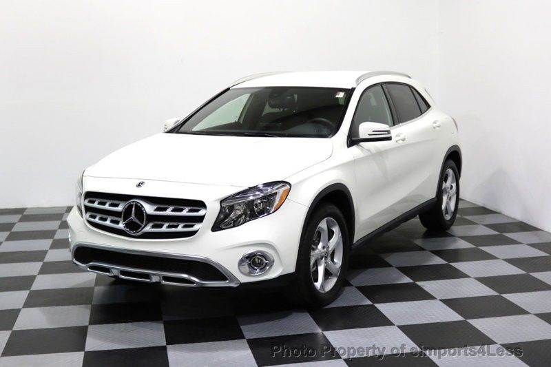 Awesome 2018 Mercedes Benz Gla Certified Gla250 4matic Awd Blind Spot Camera Nav 9874 Miles