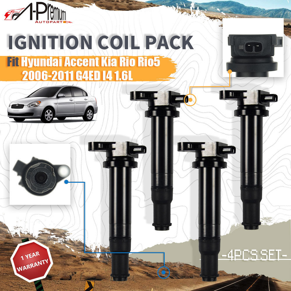 2011 Hyundai Accent Ignition Coil