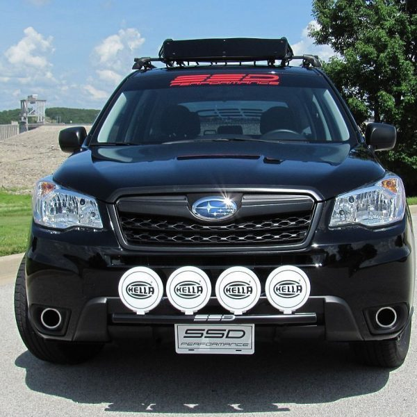 Awesome fits 2015 subaru forester 25 rally light bar 4 light tabs products aloadofball Choice Image
