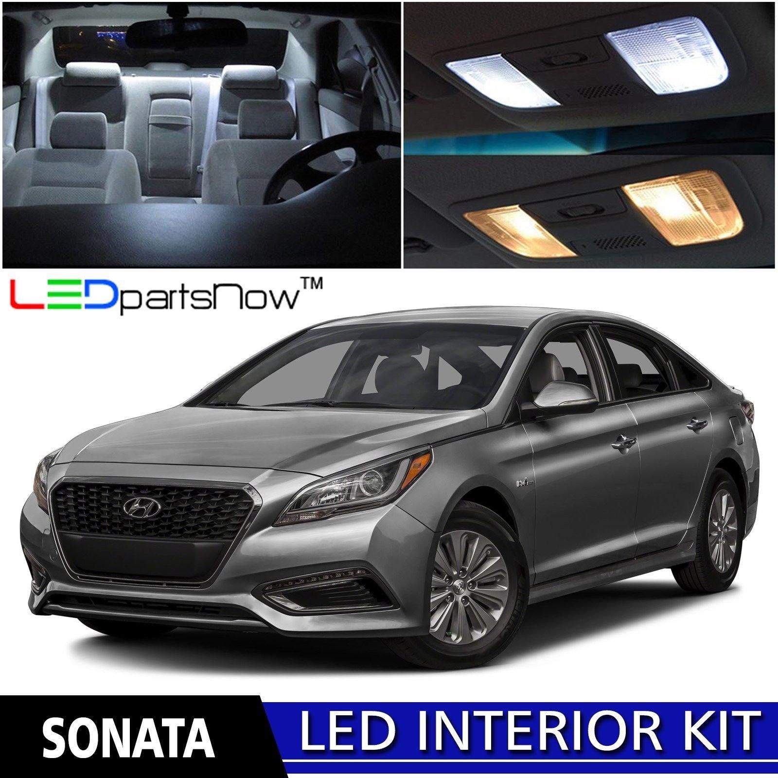 Hyundai Sonata 2015 Review: Awesome LEDpartsNow 2015-2016 Hyundai Sonata LED Interior