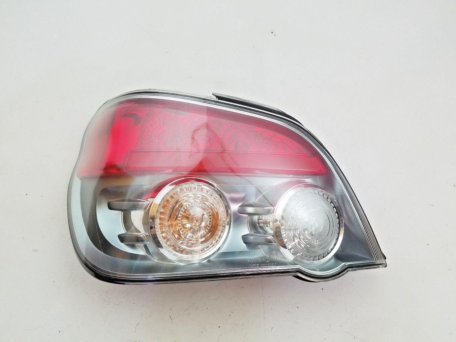 Amazing Subaru Impreza Wrx Sti Sedan Tail Light Taillight Driver S Left 2006 2007 2018 2019