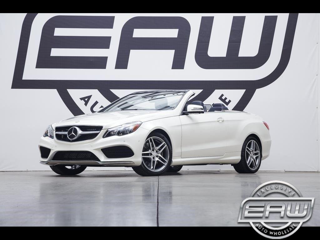 Amazing E Cl E550 Cabriolet W Premium 3 Pkg 2017 Mercedes Benz 9010 Miles White 4 6l 2018 2019