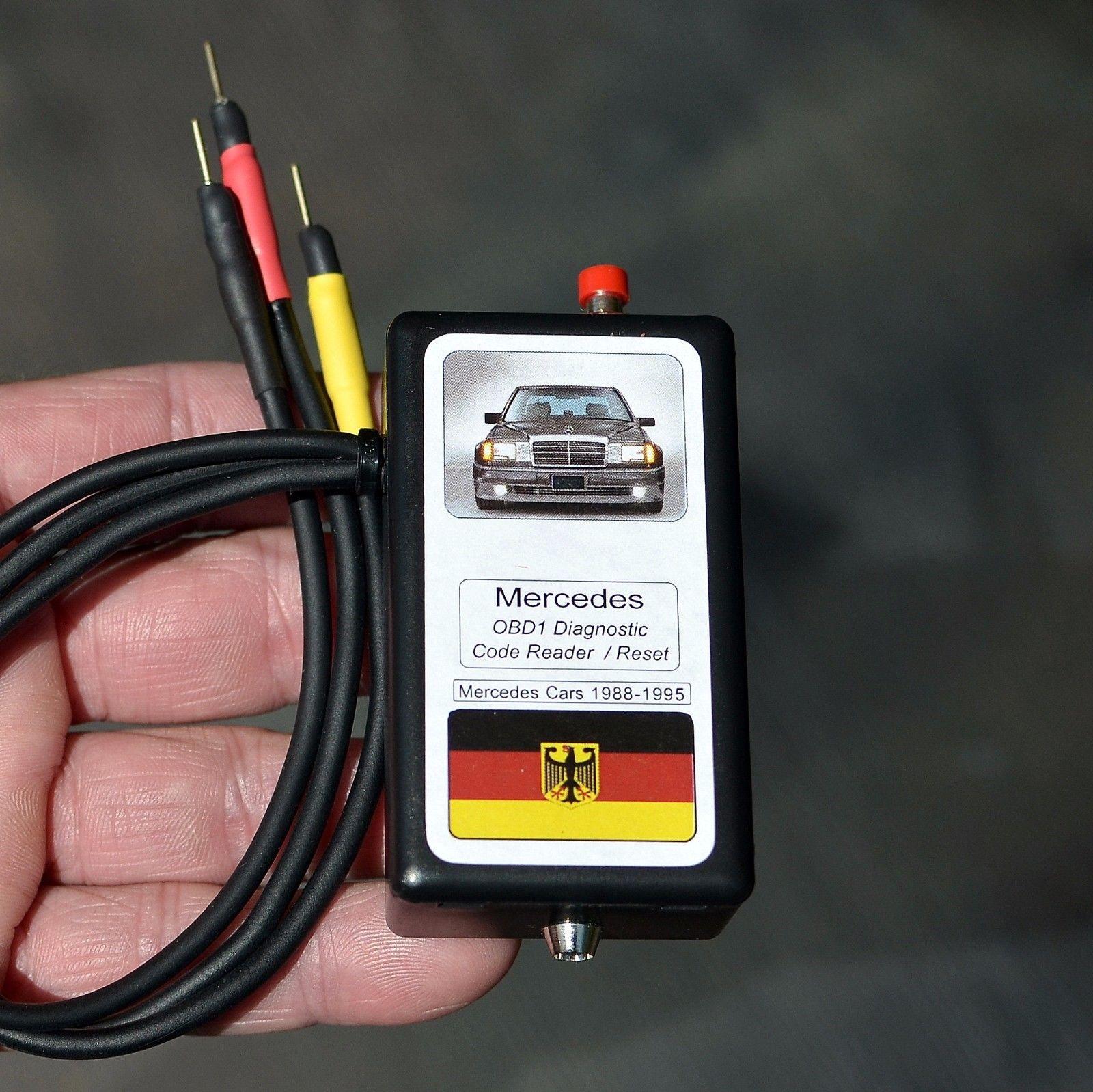 Great Mercedes OBD1 Diagnostic code reader R129 W140 500E W124 SL600 SL320  SL500 S320 2017/2018