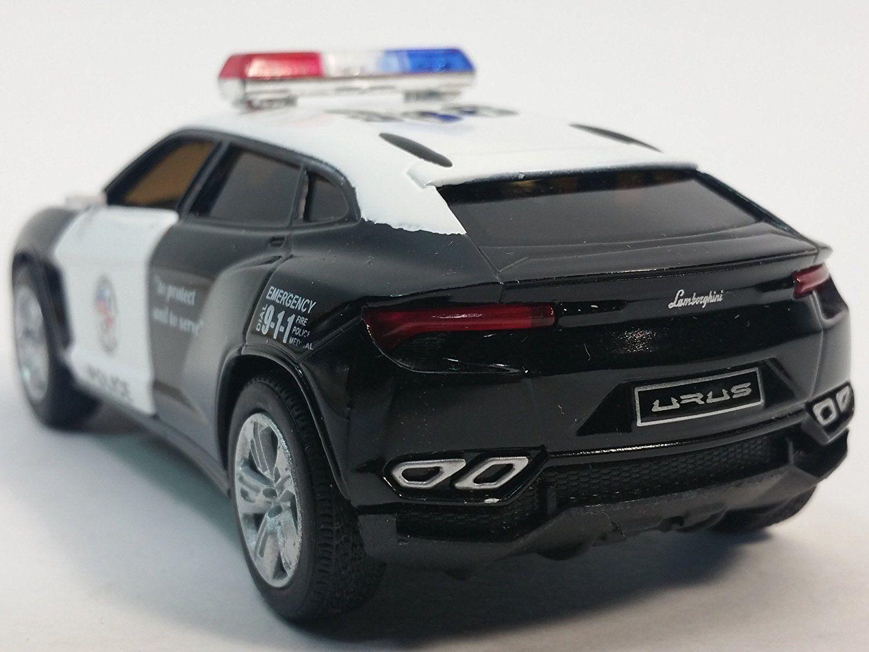 Awesome New 5 Kinsmart Diecast Lamborghini Urus Police Suv Diecast