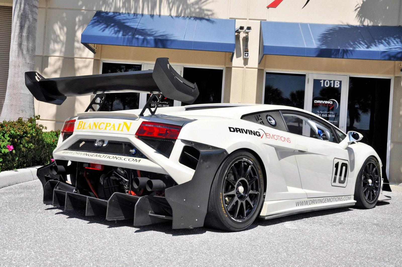 Awesome 2013 Lamborghini Gallardo Lp570 Super Trofeo Race Car 2013