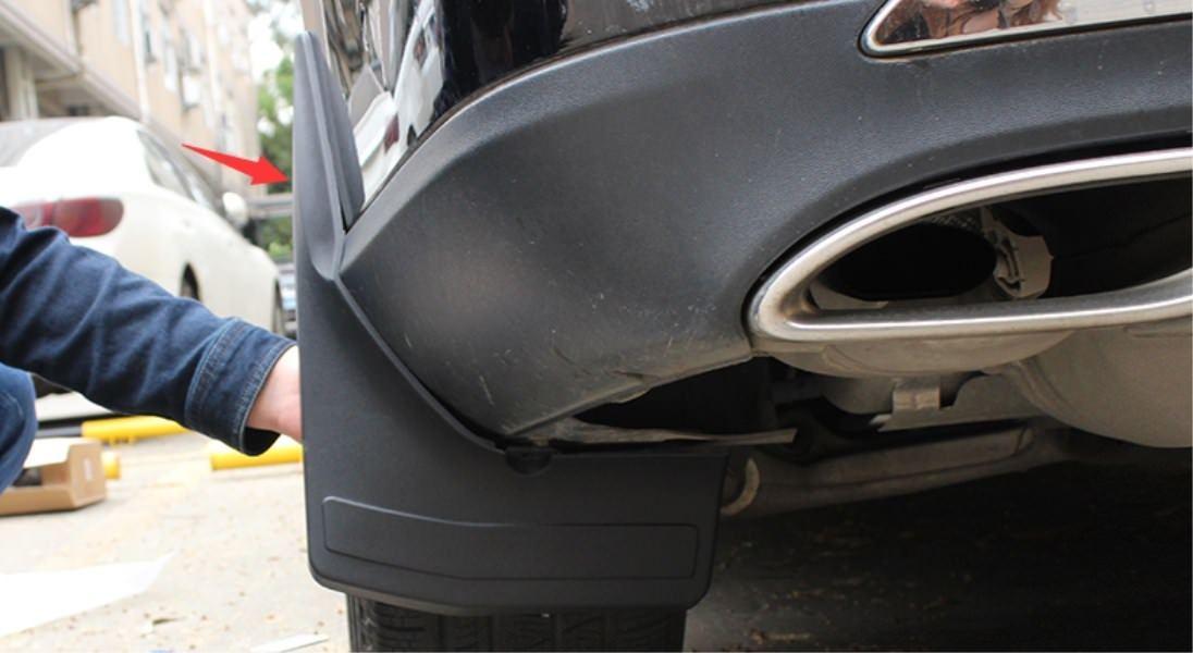 For Mercedes Benz GLE W166 C292 2015-2017  Plastics Mud Flaps Splash Guard Trim