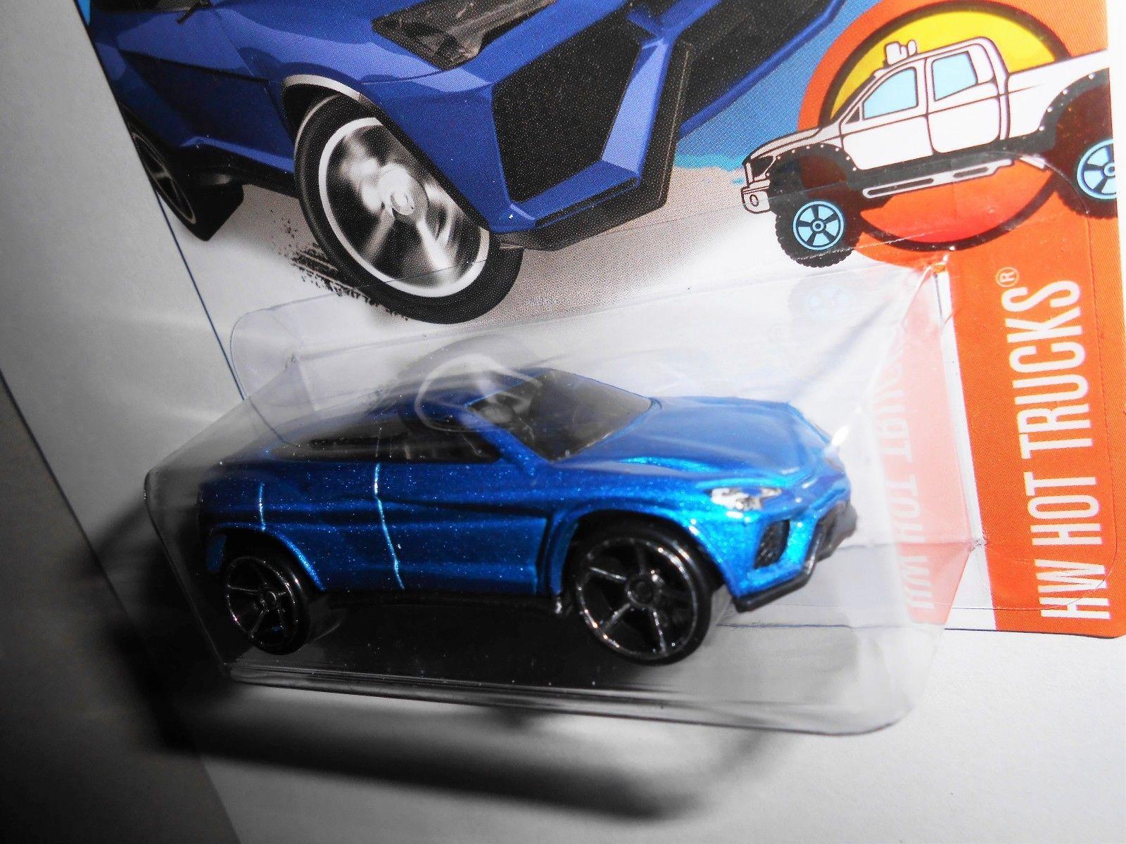 Amazing Hot Wheels Lamborghini Urus Hot Trucks 2 10 Flake Blue