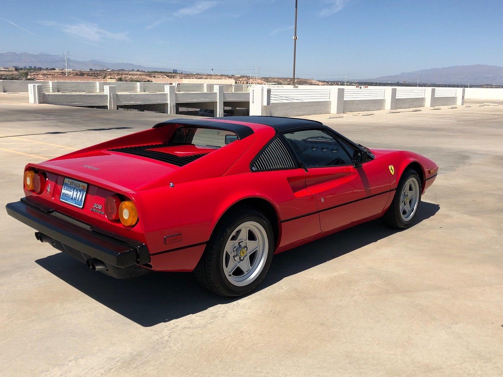 Great 1983 Ferrari 308 Gtsi No Reserve Targa Mint Condition 40k Miles California Car 2018 2019