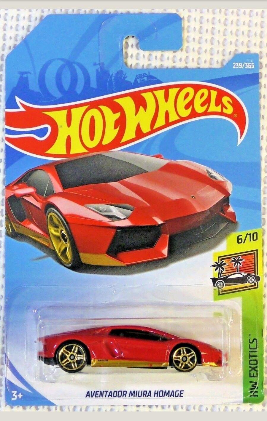 awesome hot wheels 2018 case k lamborghini aventador miura homage