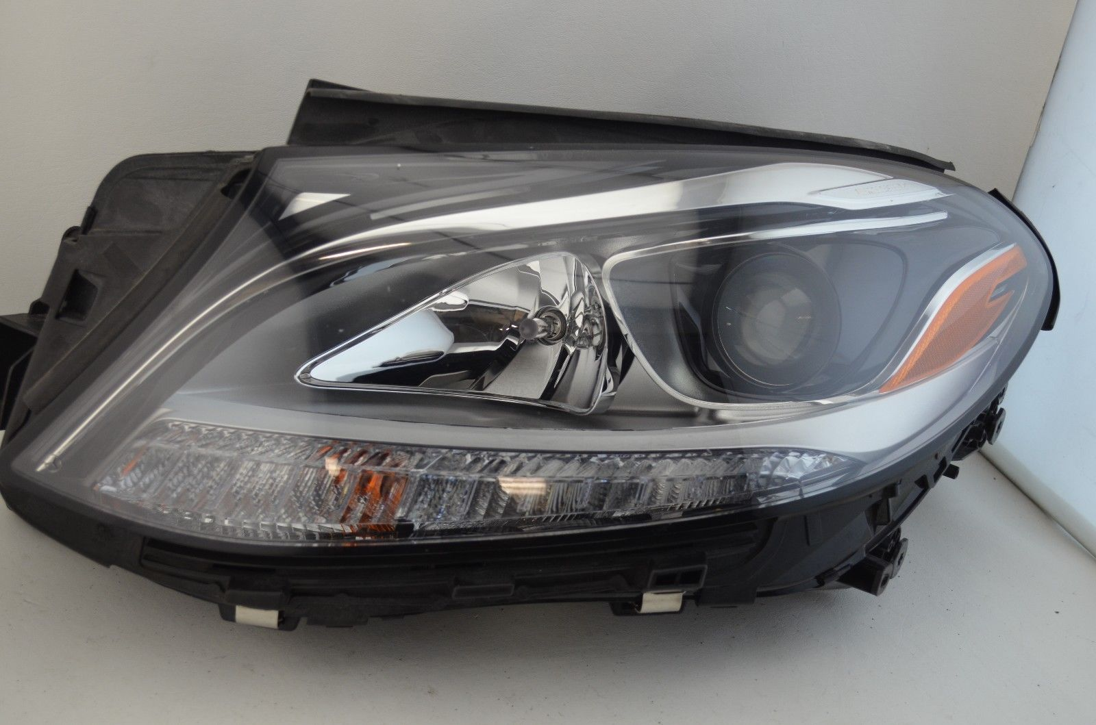 great    mercedes gle class gle gle left halogen headlight oem compl