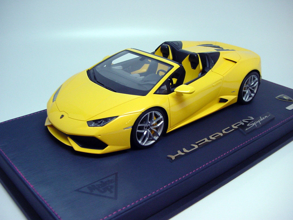 Awesome 1 18 Make Up Eml006a4 Lamborghini Huracan Lp610 4 Spyder
